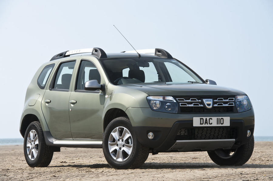 Styling and trim upgrades for Dacia Duster