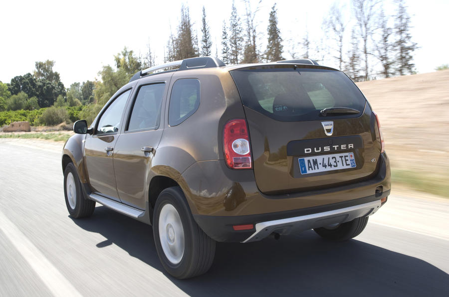 Dacia Duster from 'under £10k'