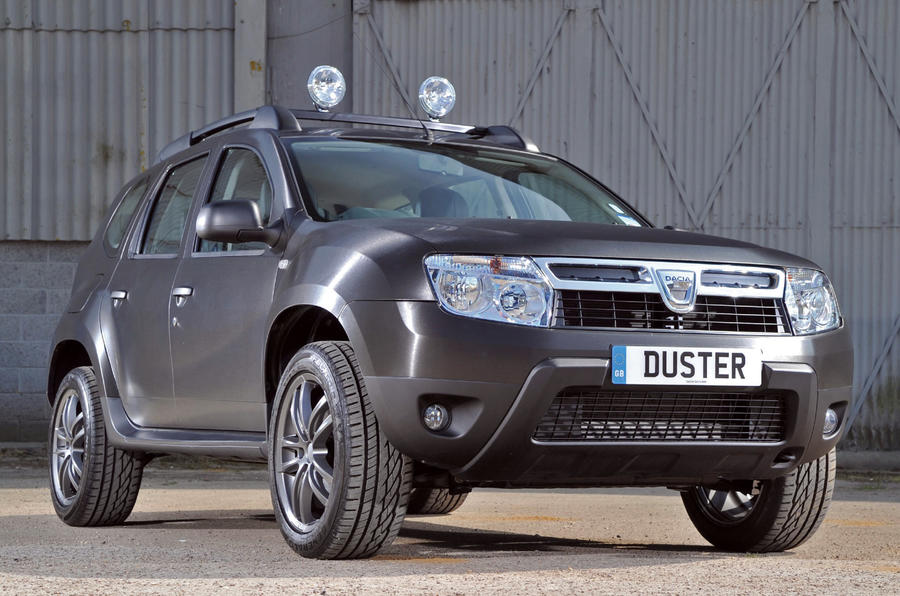 Dacia Duster Ambiance dCi 110 4x4 Black Edition first drive