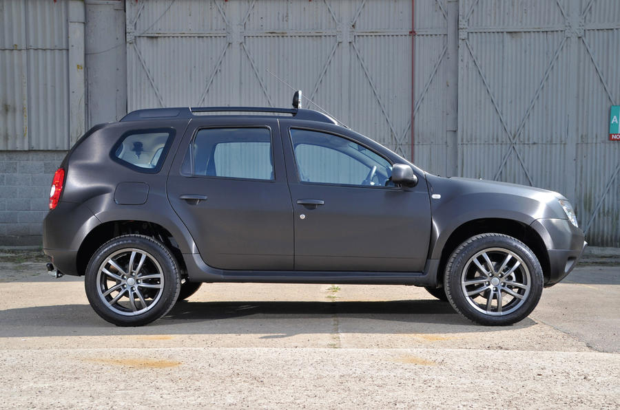 Dacia Duster Black first drive review