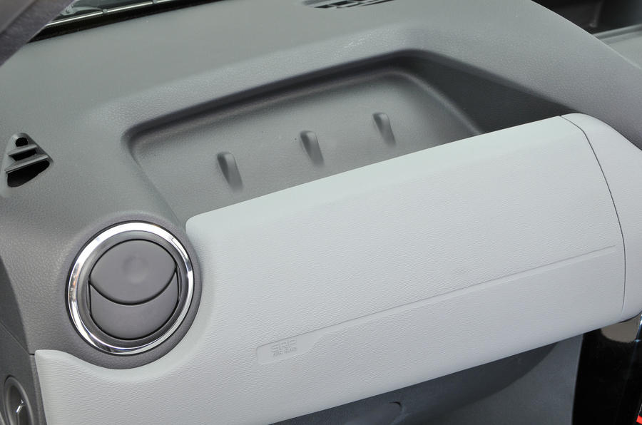 Dacia Duster glovebox