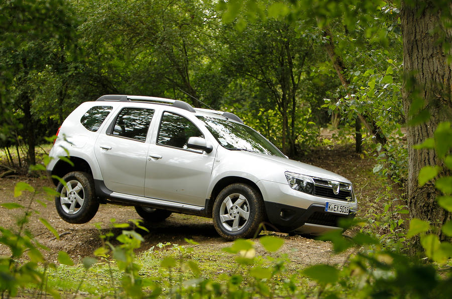 The 4 star cheap and rugged Dacia Duster