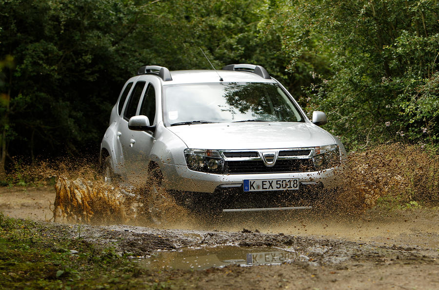 Dacia Duster has low gearing to cope with off-roading