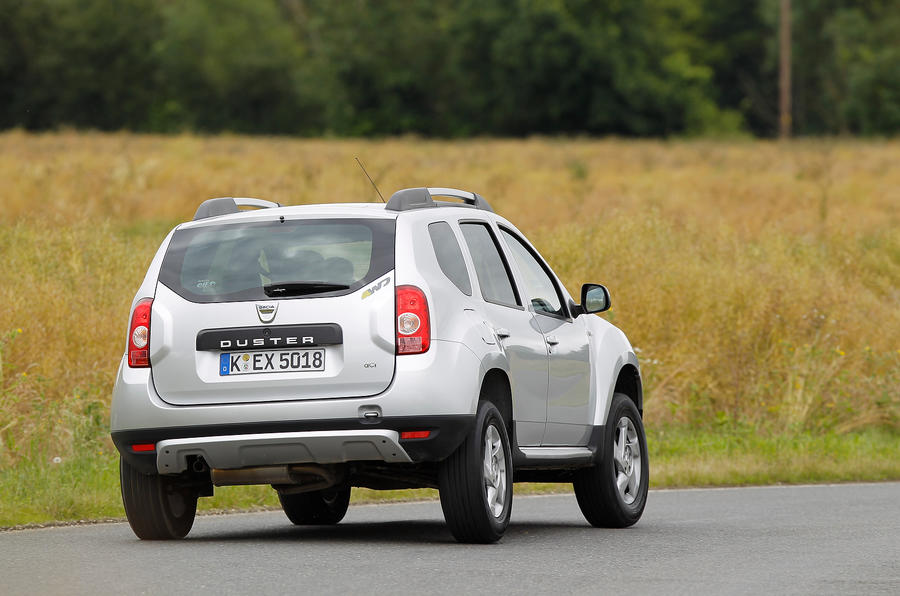 Dacia Duster comes equipped with either an 1.5-litre diesel or 1.6-litre petrol