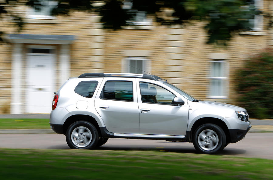 Dacia Duster has very soft springs which compromise on body control