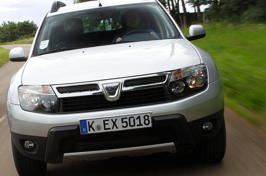 Dacia Duster is fitted to an old and borrowed platform from Renault