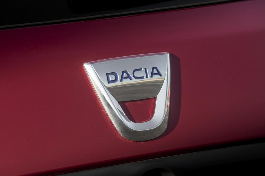 Dacia Logan MCV badging