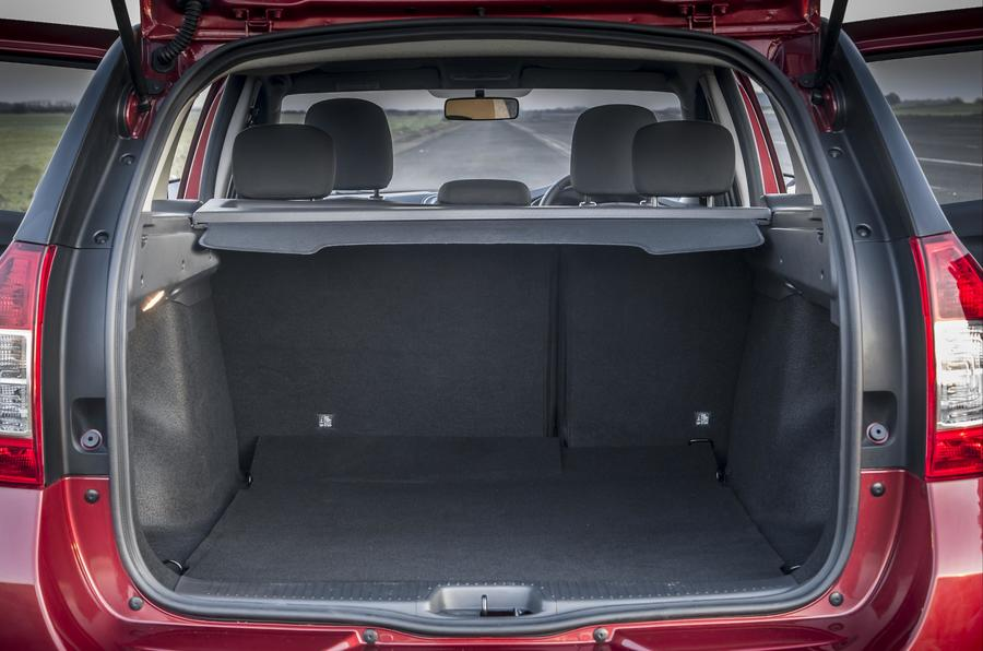 Dacia Logan MCV boot space