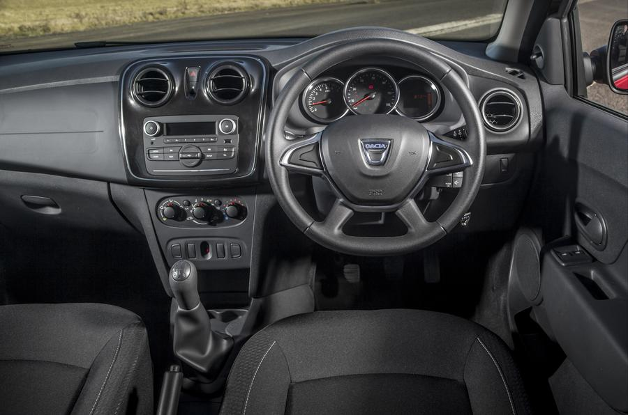 Dacia Logan MCV dashboard