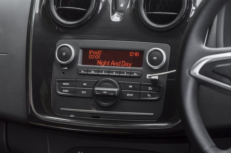 Dacia Logan MCV infotainment system