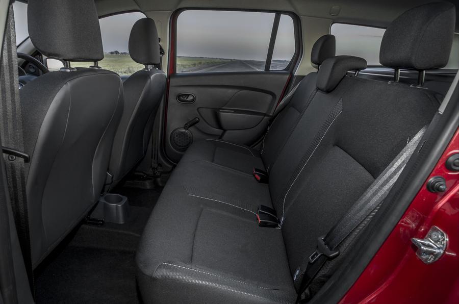 Dacia Logan MCV rear seats