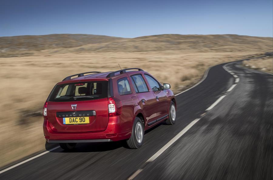 Dacia Logan MCV rear
