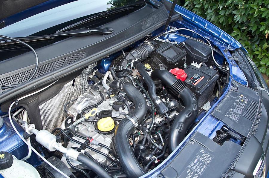 0.9-litre Dacia Sandero petrol engine
