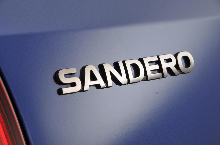 Dacia Sandero badging