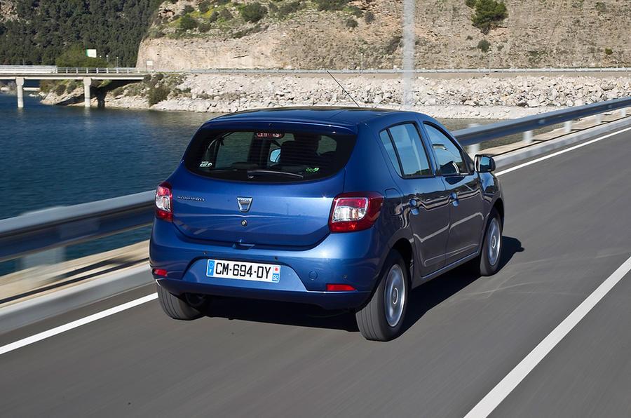 Dacia Sandero rear