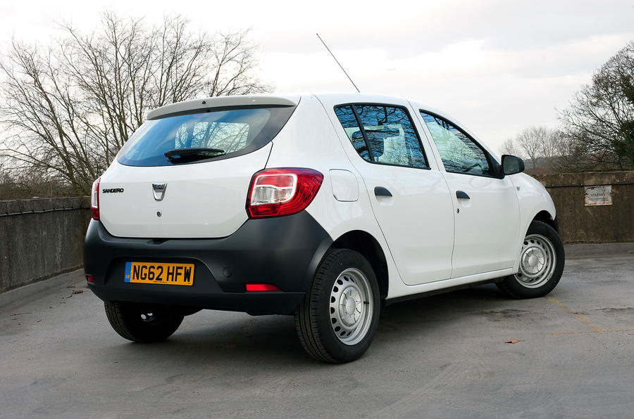 Dacia Sandero rear quarter