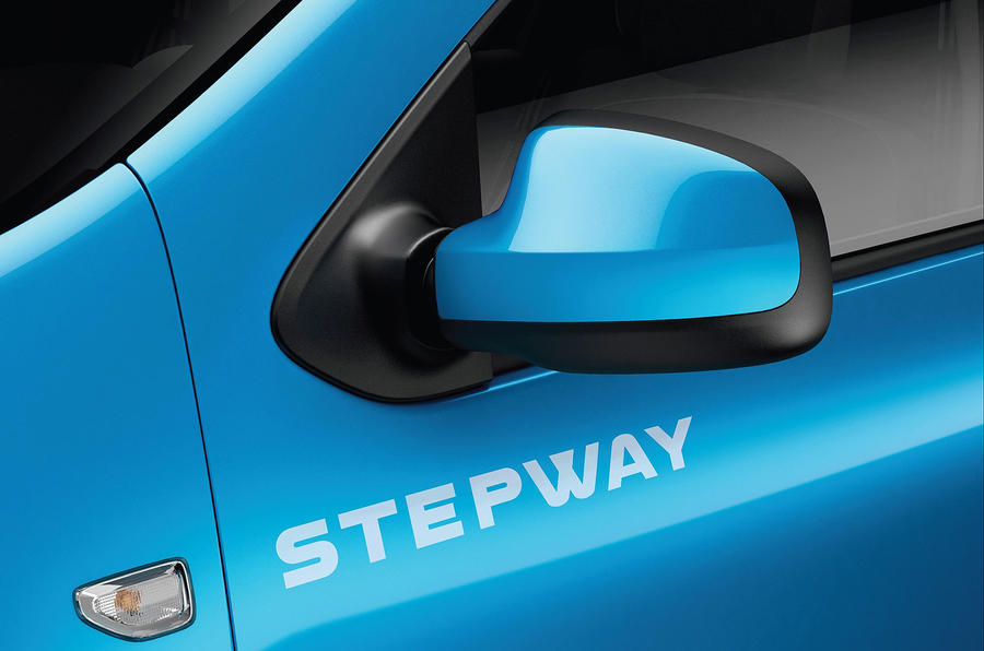 Dacia Sandero Stepway decals