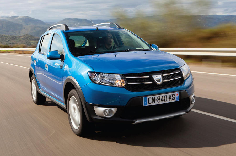Dacia Sandero Stepway Ambiance DCi 90 first drive