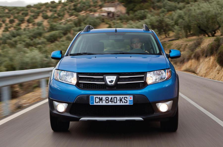 Dacia Sandero Stepway front end