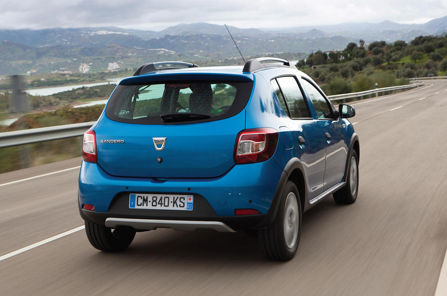 Dacia Sandero Stepway rear end