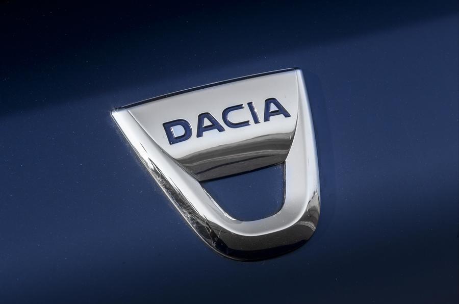 Dacia Sandero Stepway badging
