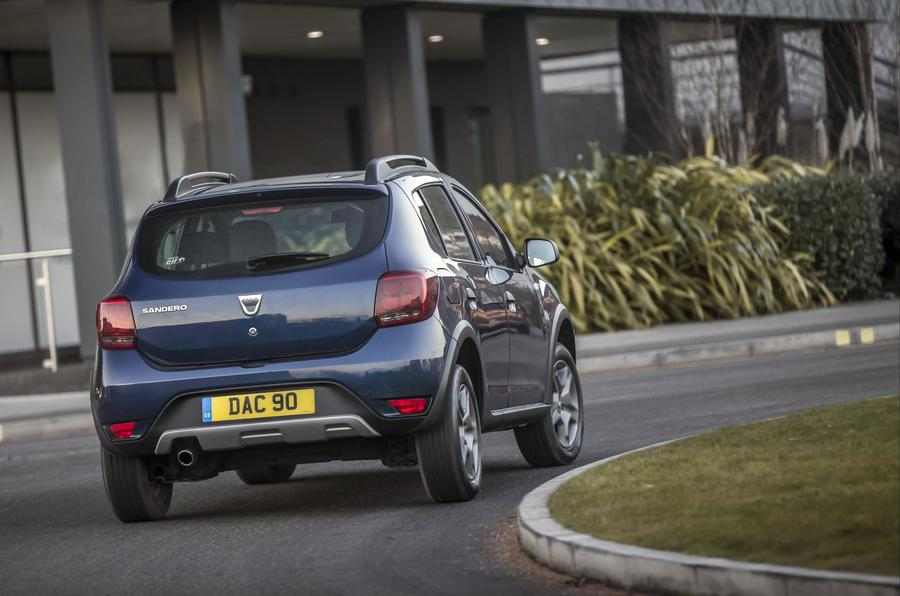 Dacia Sandero Stepway rear cornering