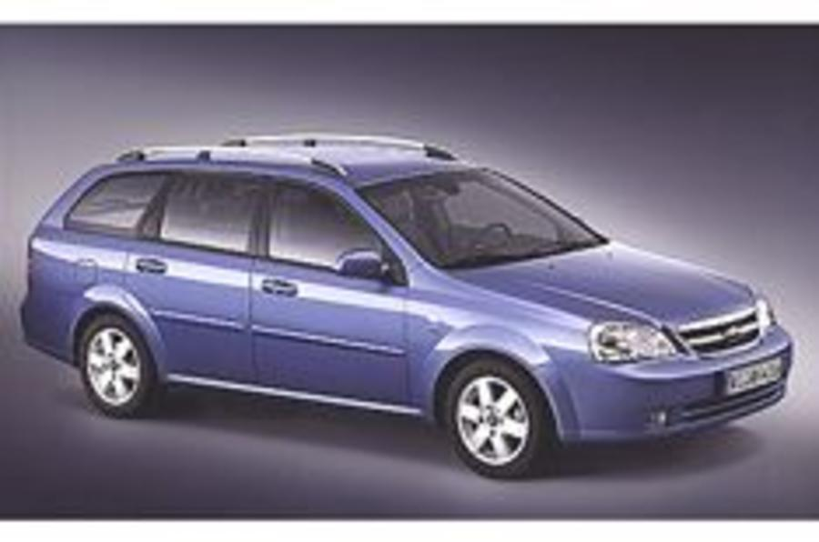 New Daewoo wagon rolls