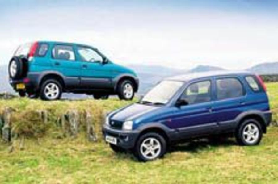 Daihatsu 4x4s for less