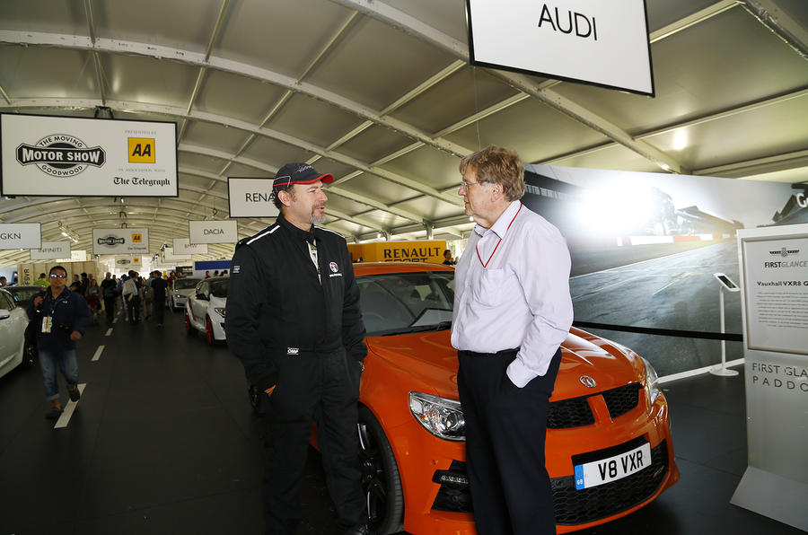 Taking on the Goodwood hill with new GM boss Dan Ammann