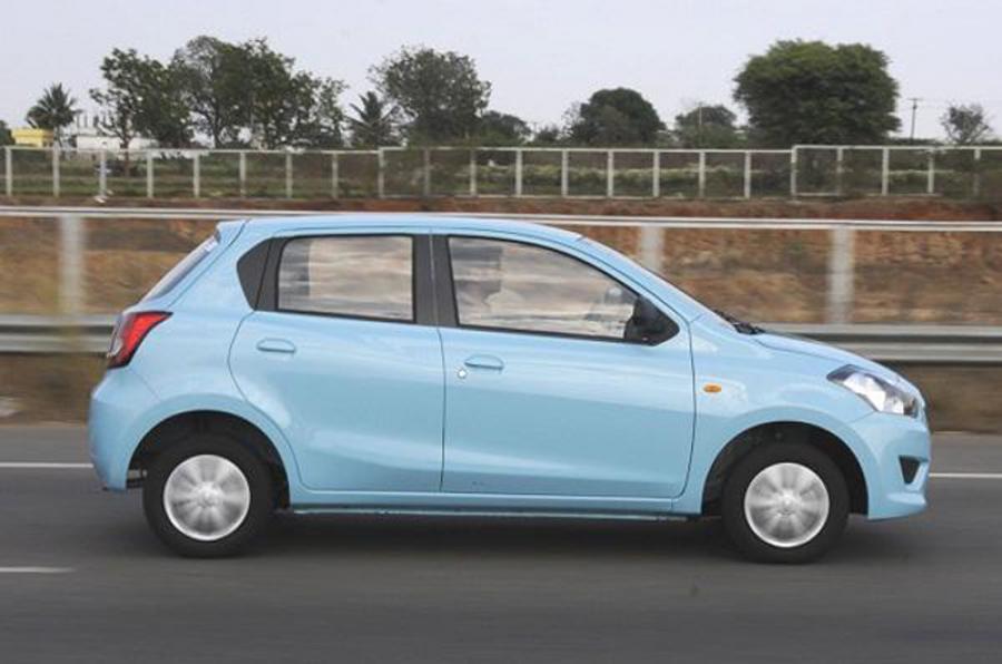 Datsun Go side profile