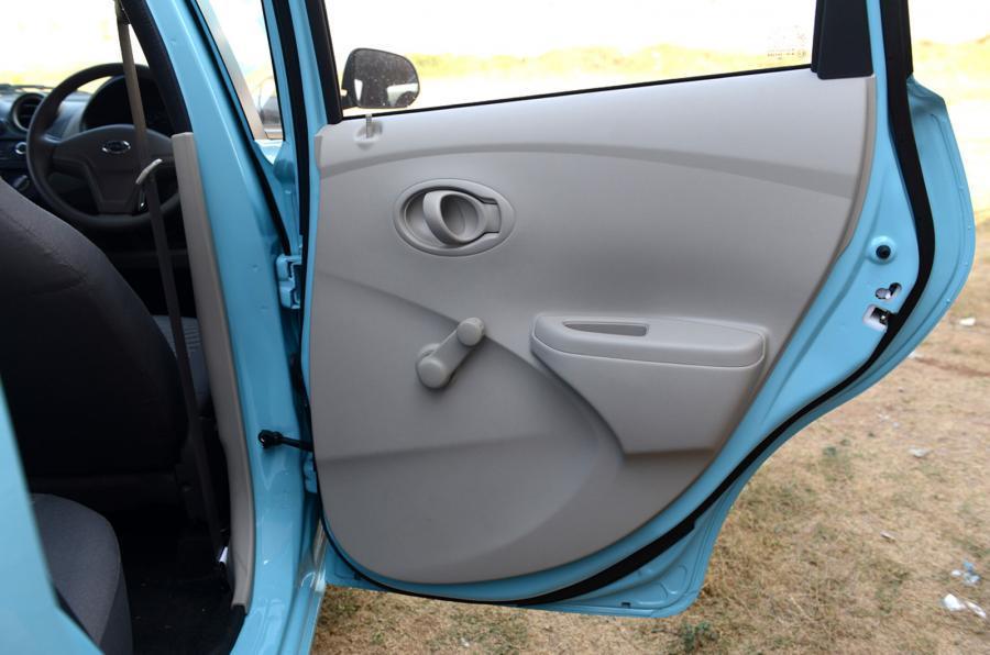 Datsun Go rear doors