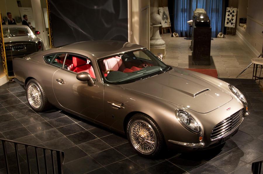 Aston Martin DB5 lives on in 'new' British sports car
