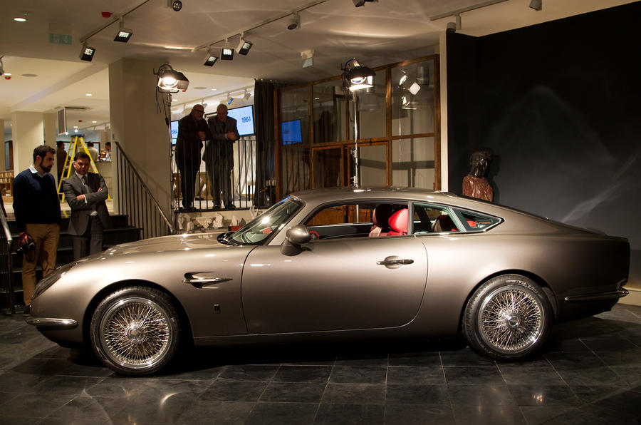 Aston Martin DB5 lives on in 'new' British sports car