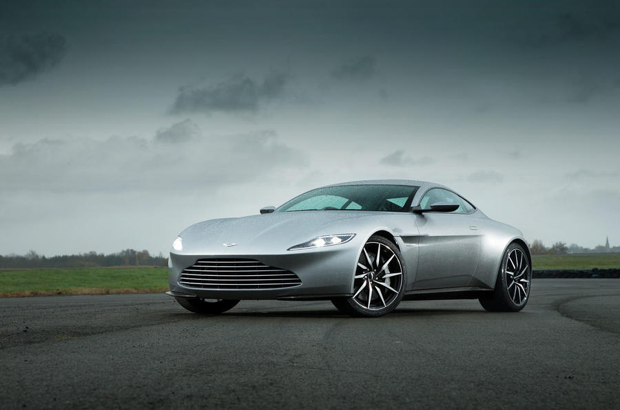 Bond's ideal company car - the Aston Martin DB10