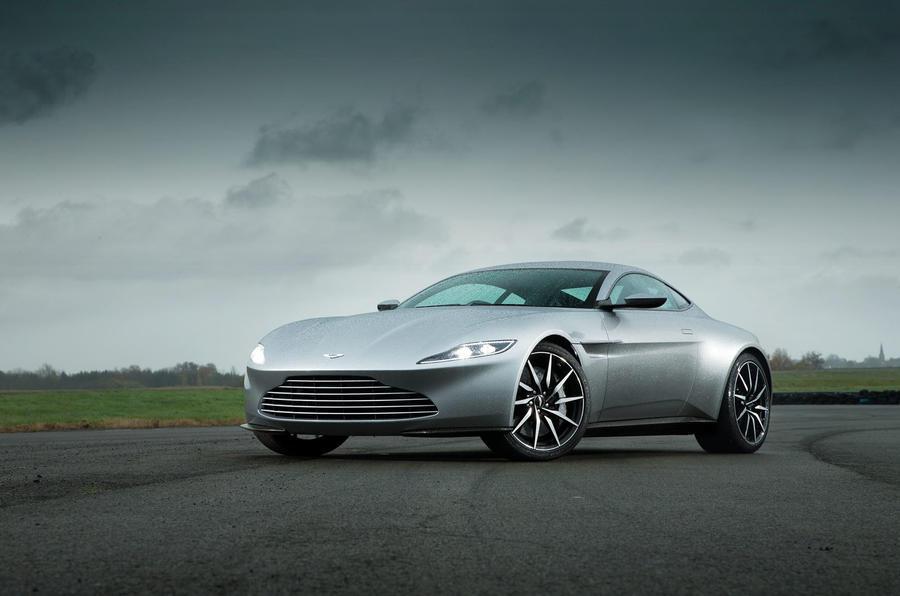 Bond's ideal company car - the Aston Martin DB10