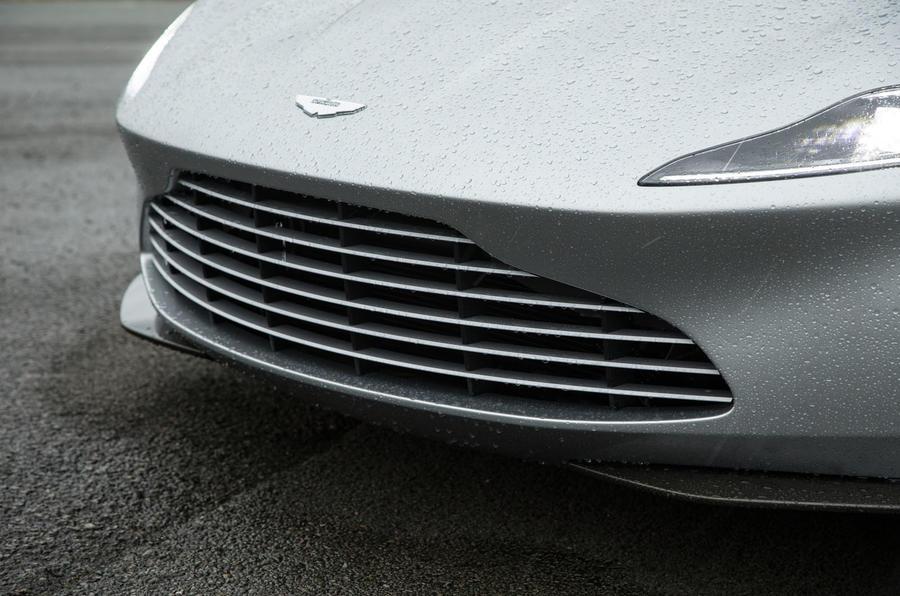 Aston Martin DB10's new grille