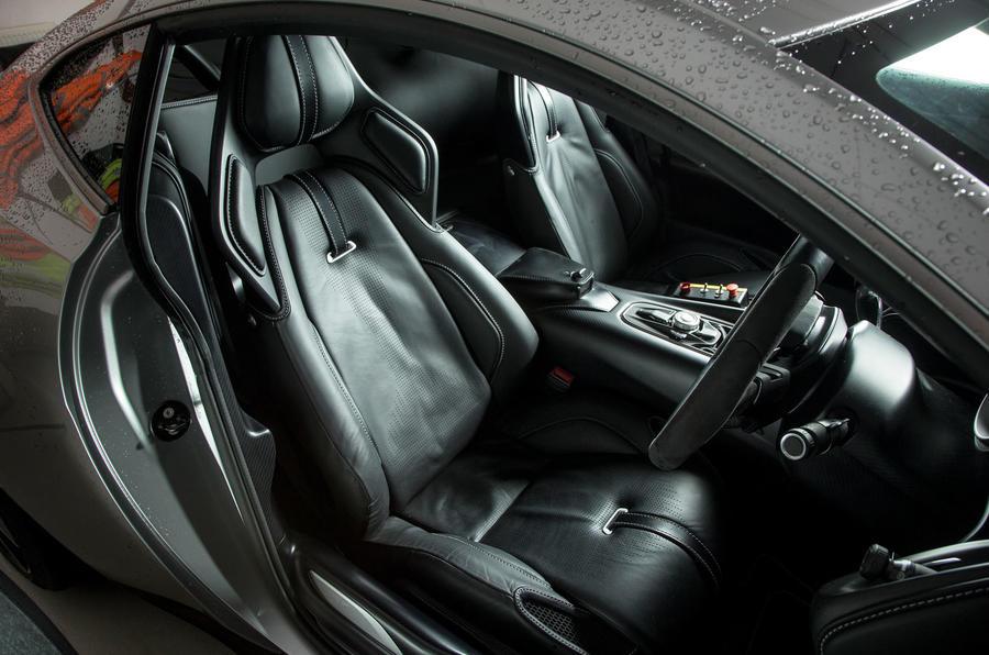 Aston Martin DB10's cockpit