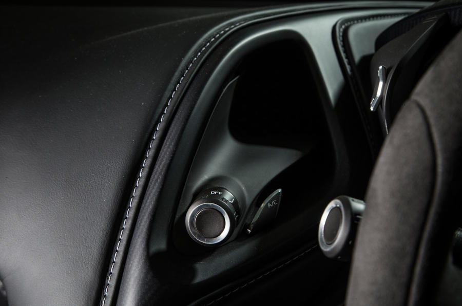 Aston Martin DB10 could do with a 360deg view on a 12in screen