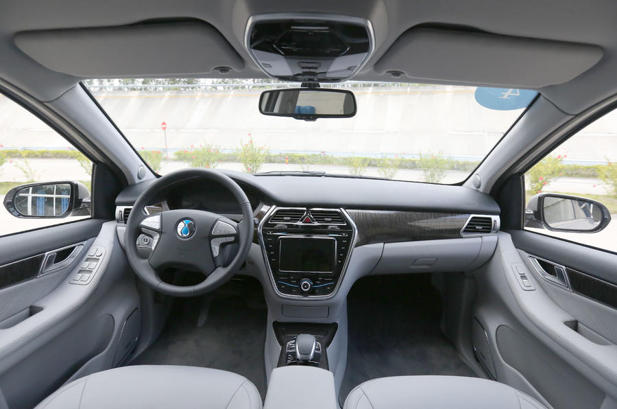 Denza Notchback EV dashboard