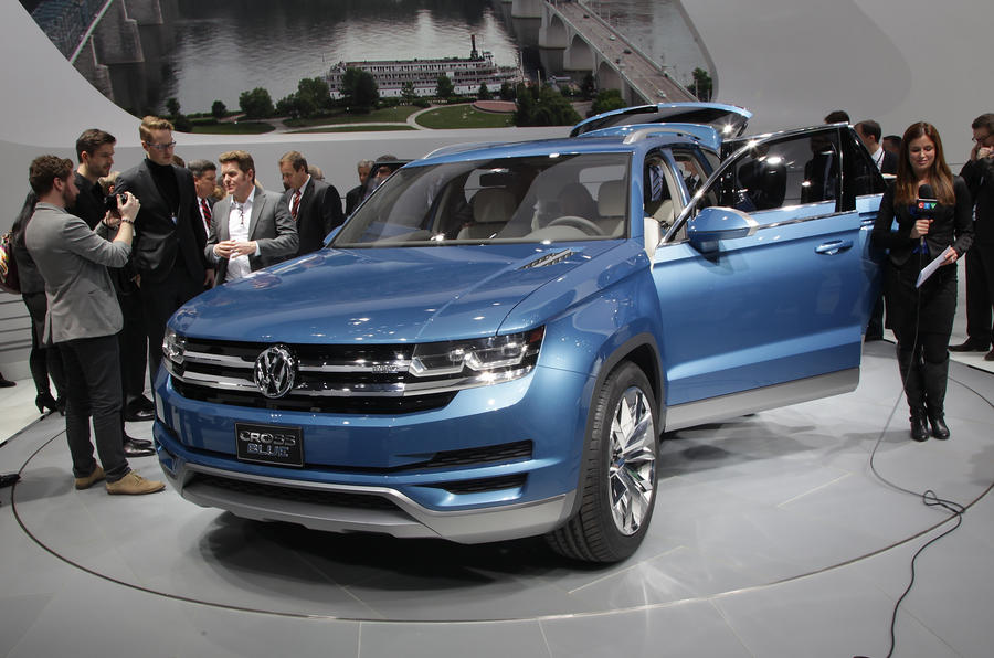 Volkswagen CrossBlue confirmed for 2016 launch