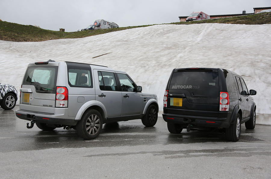 Land Rover Discovery facelift spotted