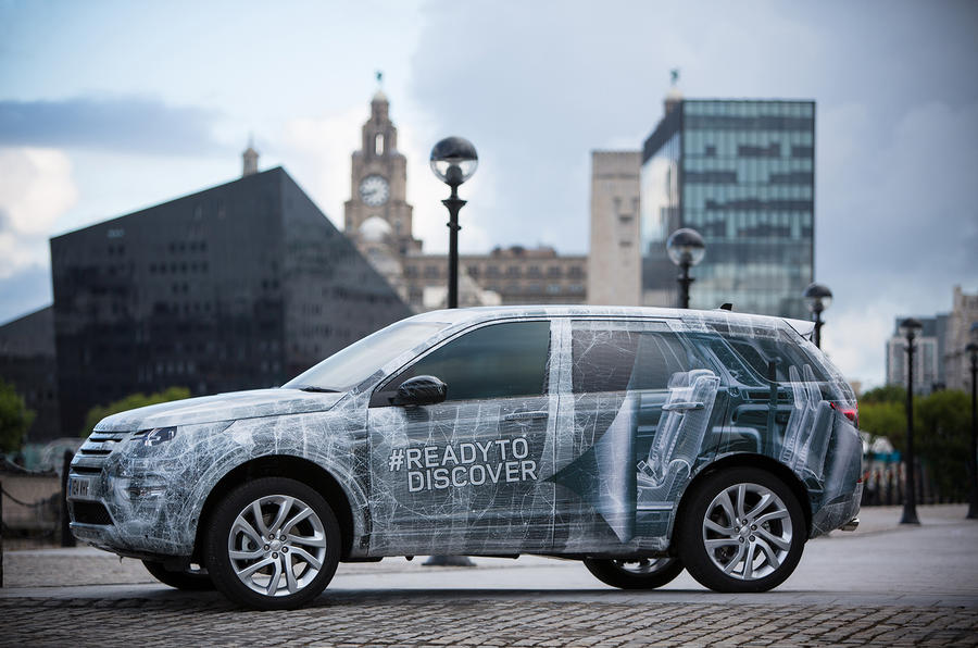 Production Land Rover Discovery Sport revealed in miniature