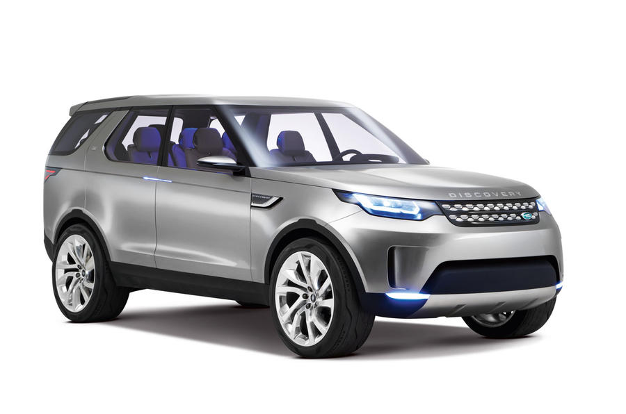 Land Rover Discovery Vision Concept Exclusive Studio Pictures