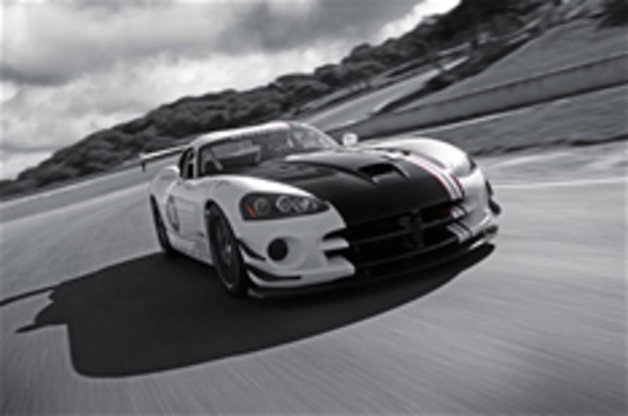 New flagship Dodge Viper racer