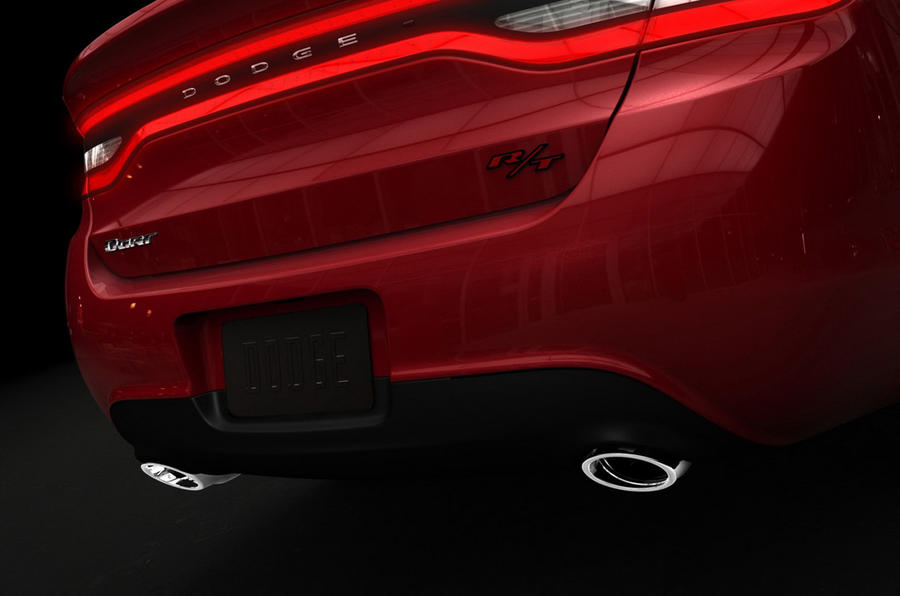 Dodge Dart interior revealed