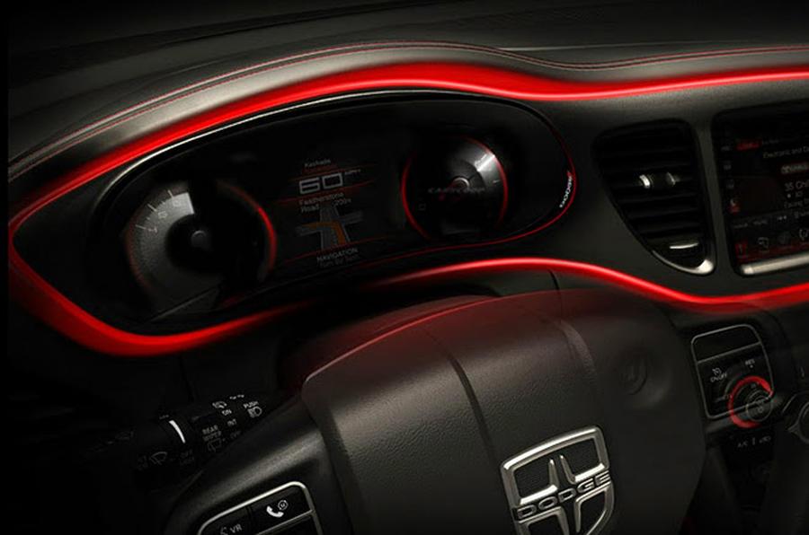 Dodge Dart Interior Revealed ...