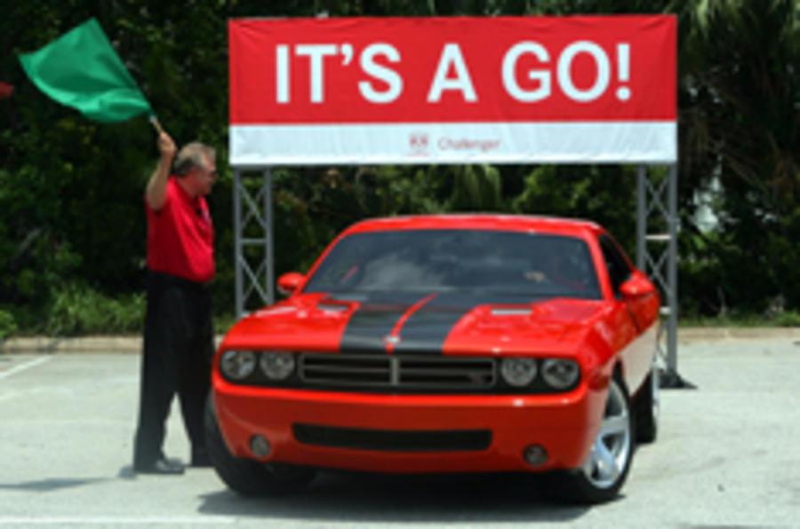 Chrysler green lights the Challenger