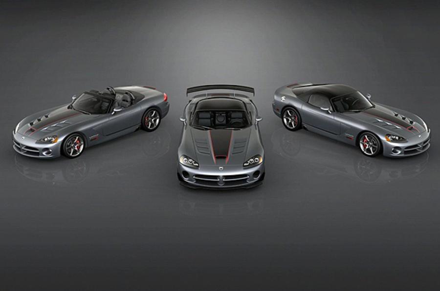 Dodge reveals Viper Final Edition