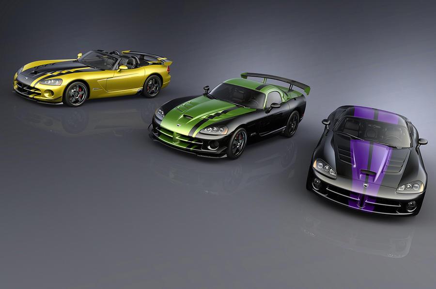 Dodge Viper special editions
