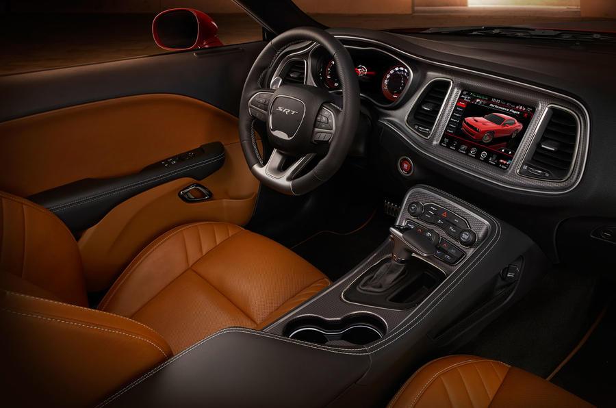 Dodge Challenger SRT Hellcat dashboard